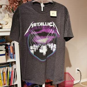 Metallia Purple Puppets t-shirt medium